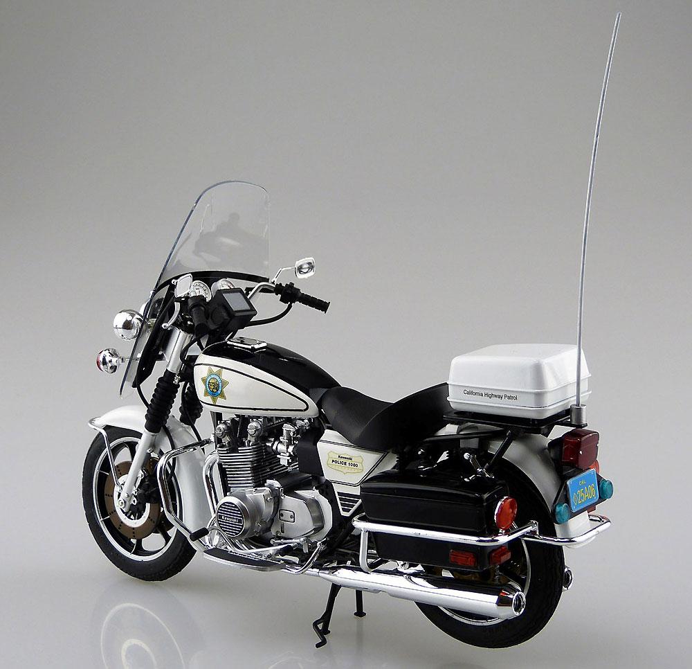 カワサキ KZ1000 ポリスプラモデル(アオシマ1/12 バイクNo.054)商品画像_3