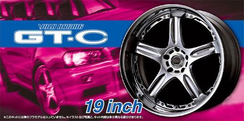 ボルクレーシング GT-C 19インチプラモデル(アオシマザ・チューンドパーツNo.070)商品画像