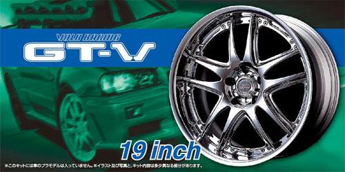 ボルクレーシング GT-V 19インチプラモデル(アオシマザ・チューンドパーツNo.071)商品画像