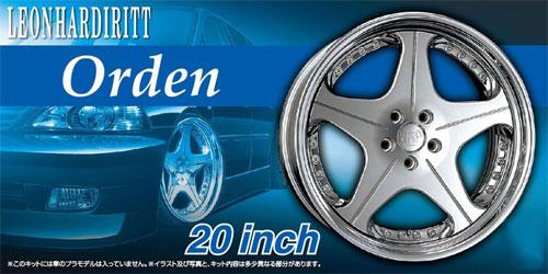 レオンハルト オルデン 20インチプラモデル(アオシマザ・チューンドパーツNo.073)商品画像