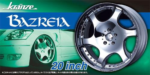 クレンツェ バズレイア 20インチプラモデル(アオシマザ・チューンドパーツNo.076)商品画像