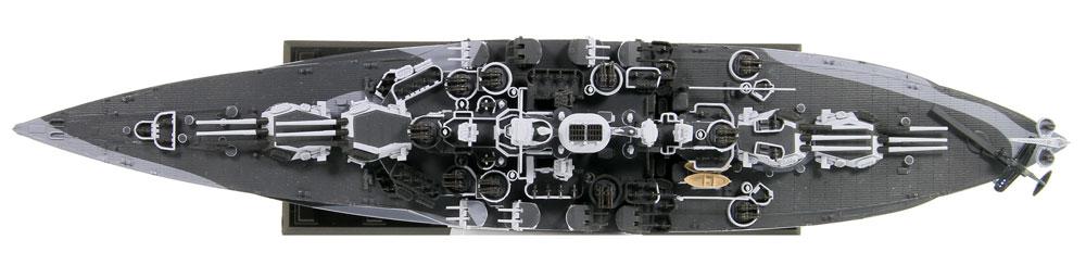 アメリカ海軍 テネシー級戦艦 BB-43 テネシー 1944プラモデル(ピットロード1/700 スカイウェーブ W シリーズNo.W202)商品画像_3