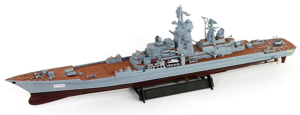 ロシア海軍 キーロフ級 原子力ミサイル巡洋艦 キーロフ (現 アドミラル・ウシャコフ)プラモデル(ピットロード1/700 スカイウェーブ M シリーズNo.M-049)商品画像_2