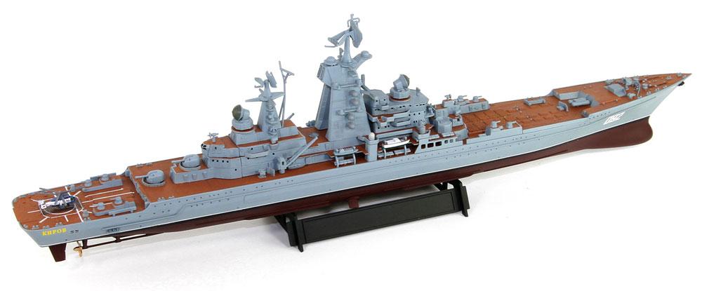 ロシア海軍 キーロフ級 原子力ミサイル巡洋艦 キーロフ (現 アドミラル・ウシャコフ)プラモデル(ピットロード1/700 スカイウェーブ M シリーズNo.M-049)商品画像_3