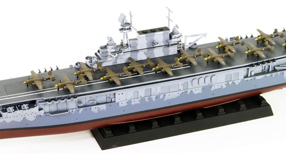 アメリカ海軍 航空母艦 CV-8 ホーネットプラモデル(ピットロード1/700 スカイウェーブ W シリーズNo.W207)商品画像_3