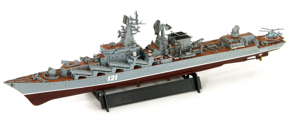 ロシア海軍 スラヴァ級ミサイル巡洋艦 モスクワプラモデル(ピットロード1/700 スカイウェーブ M シリーズNo.M-048)商品画像_4