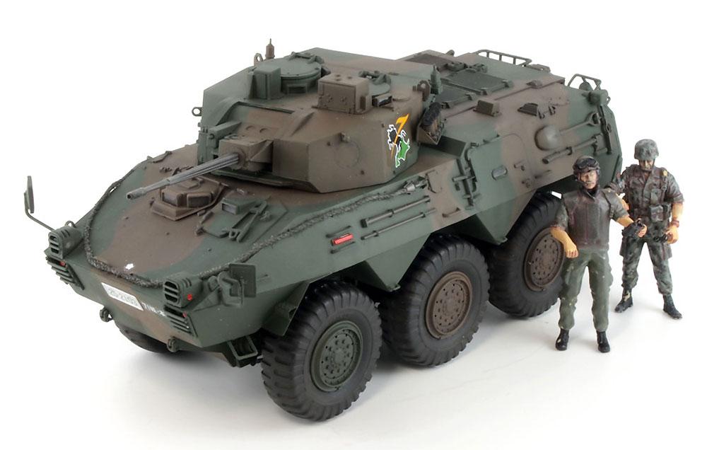 陸上自衛隊 87式偵察警戒車プラモデル(ピットロード1/35 グランドアーマーシリーズNo.G048)商品画像_2