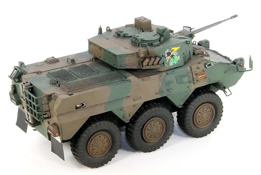 陸上自衛隊 87式偵察警戒車プラモデル(ピットロード1/35 グランドアーマーシリーズNo.G048)商品画像_3