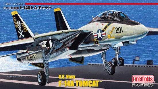 アメリカ海軍 F-14A トムキャットプラモデル(ファインモールド1/72 航空機No.FP030)商品画像