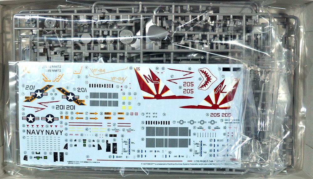 アメリカ海軍 F-14A トムキャットプラモデル(ファインモールド1/72 航空機No.FP030)商品画像_1