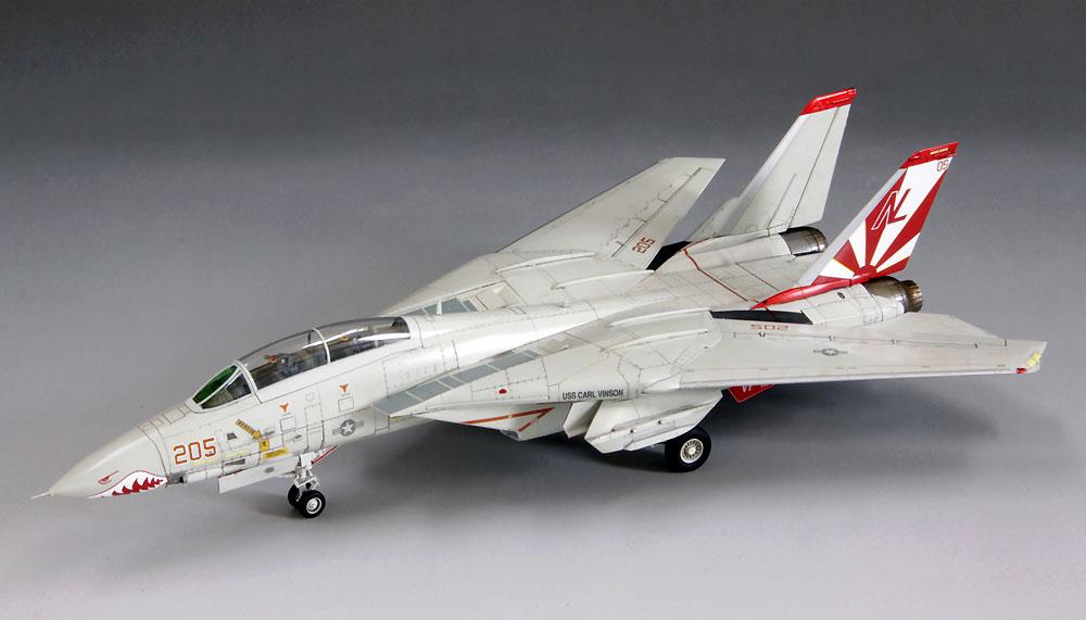 アメリカ海軍 F-14A トムキャットプラモデル(ファインモールド1/72 航空機No.FP030)商品画像_2