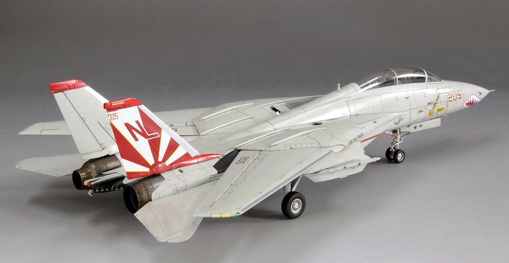 アメリカ海軍 F-14A トムキャットプラモデル(ファインモールド1/72 航空機No.FP030)商品画像_4