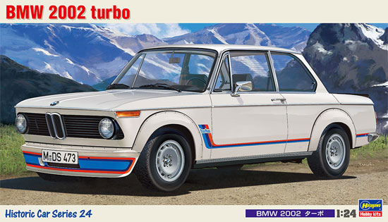 BMW 2002ターボプラモデル(ハセガワ1/24 自動車 HCシリーズNo.HC024)商品画像