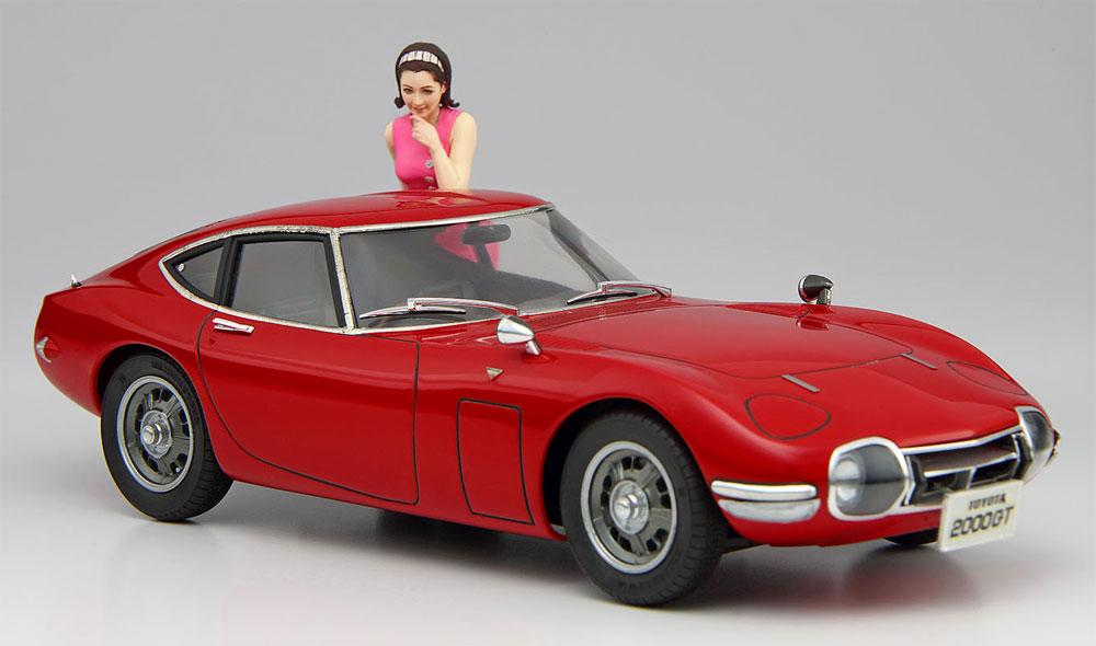 トヨタ 2000GT w/60's ガールズフィギュアプラモデル(ハセガワ1/24 自動車 限定生産No.SP366)商品画像_2