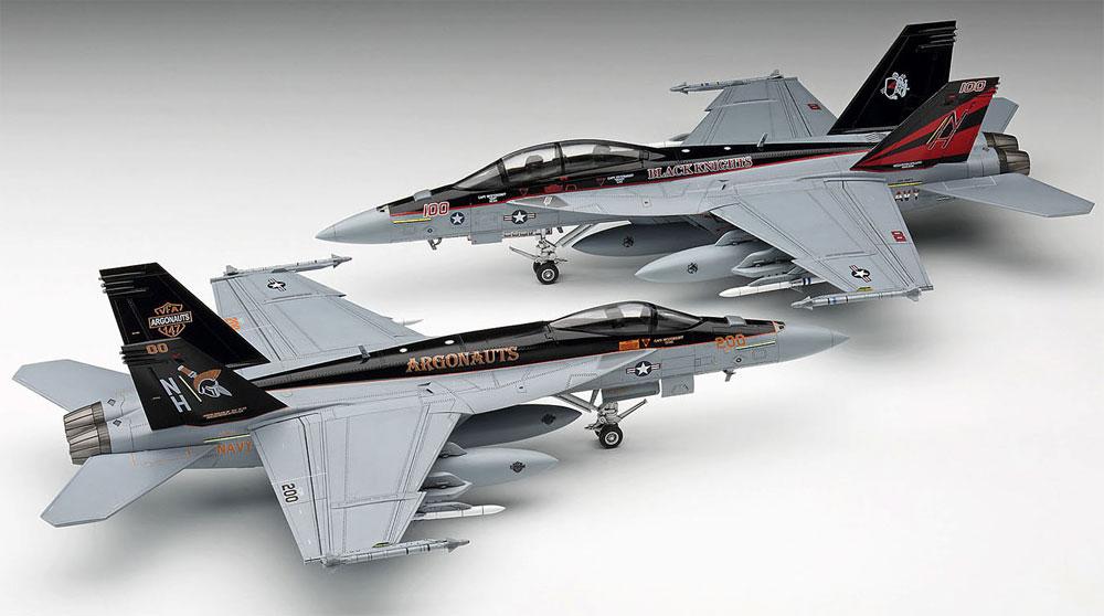 F/A-18E/F スーパーホーネット USS ニミッツ CVW-11 スペシャルパック Part 1プラモデル(ハセガワ1/72 飛行機 限定生産No.SP365)商品画像_4