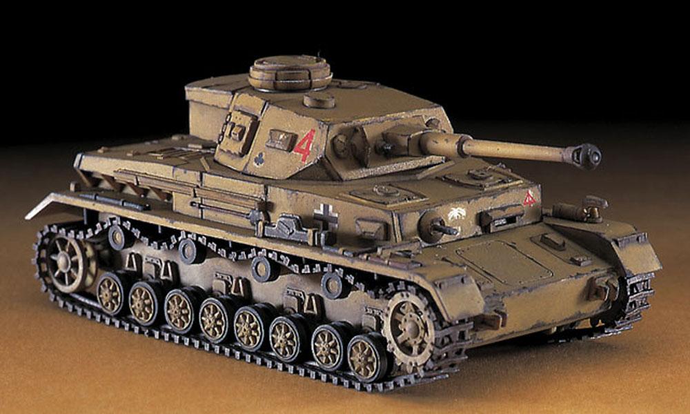4号戦車 F2型 & 8tハーフトラック & 88mm対空砲 ロンメルアフリカ軍団プラモデル(ハセガワ1/72 ミニボックスシリーズNo.30046)商品画像_4