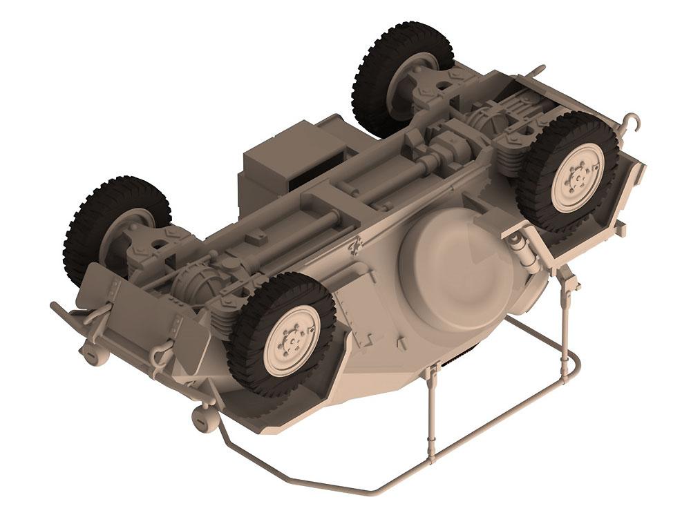 ドイツ Sd.Kfz.261 無線装甲車プラモデル(ICM1/48 ミリタリービークルNo.48194)商品画像_4