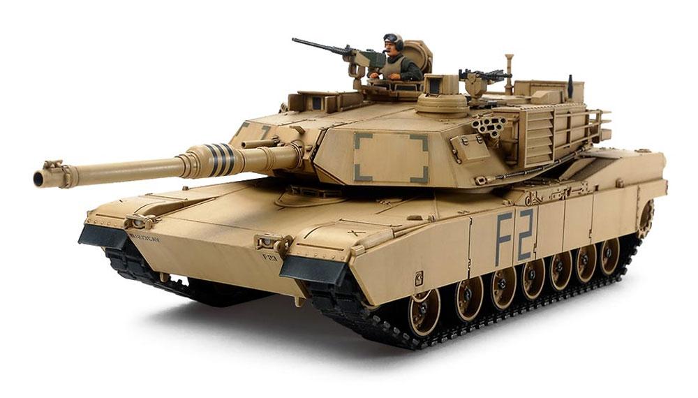 アメリカ M1A2 エイブラムス戦車プラモデル(タミヤ1/48 ミリタリーミニチュアシリーズNo.092)商品画像_2
