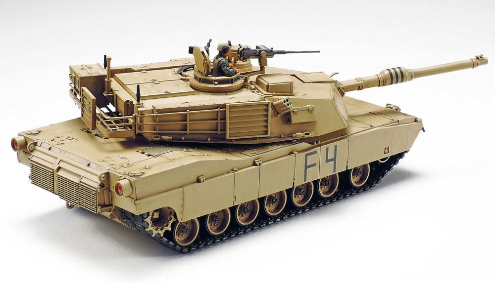 アメリカ M1A2 エイブラムス戦車プラモデル(タミヤ1/48 ミリタリーミニチュアシリーズNo.092)商品画像_3