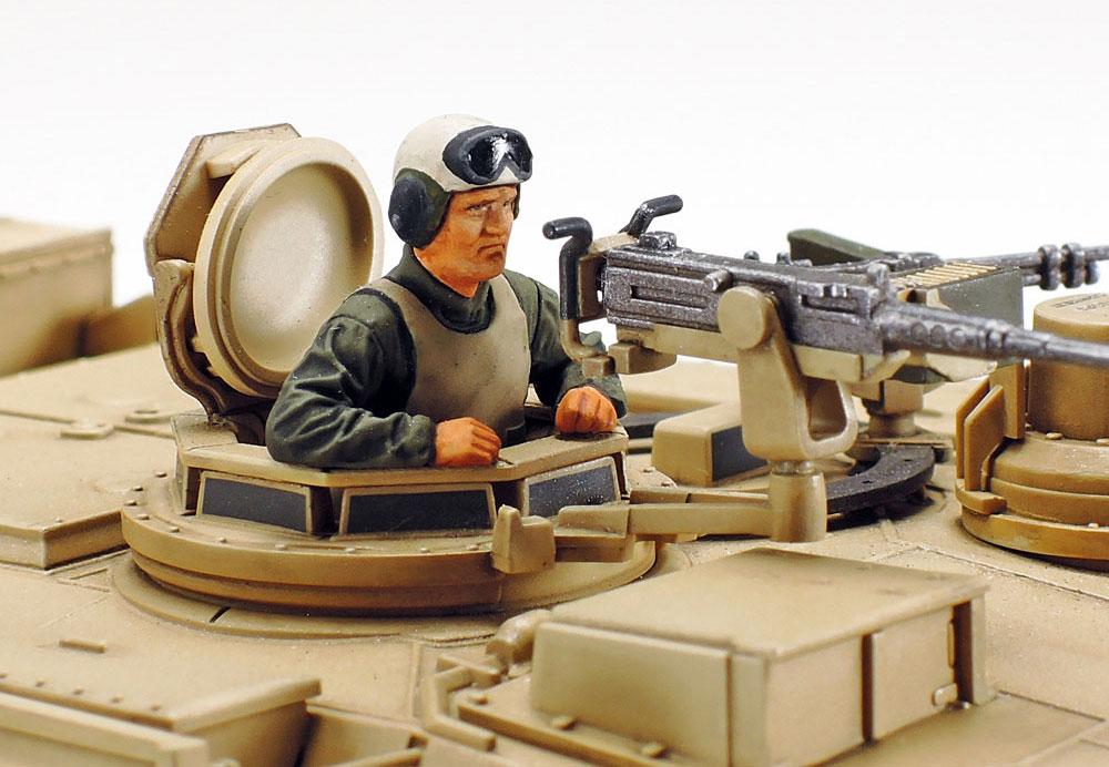 アメリカ M1A2 エイブラムス戦車プラモデル(タミヤ1/48 ミリタリーミニチュアシリーズNo.092)商品画像_4