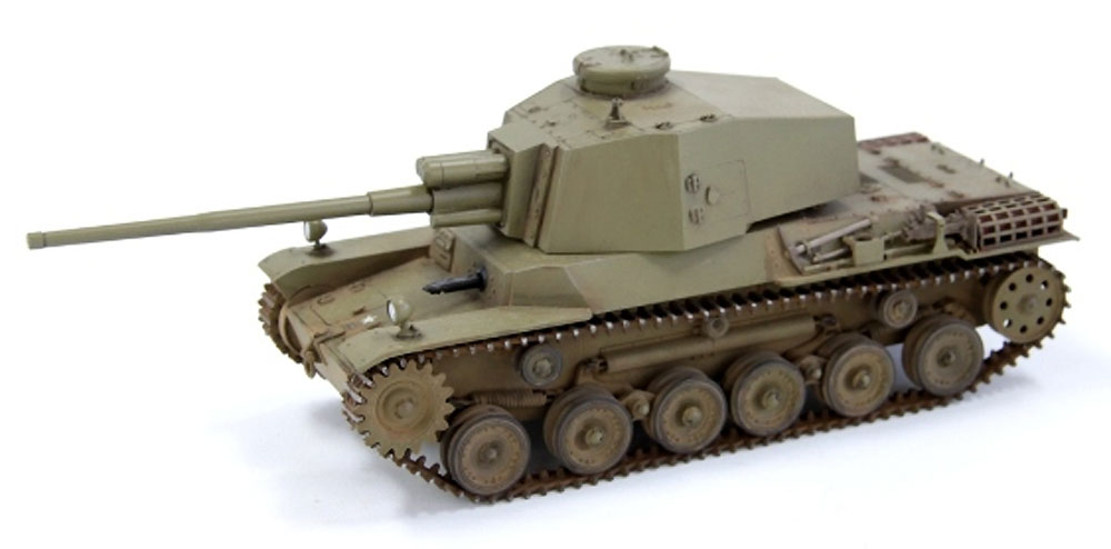 帝国陸軍 三式中戦車 チヌ 長砲身型プラモデル(ファインモールド1/35 ミリタリーNo.FM029)商品画像_4