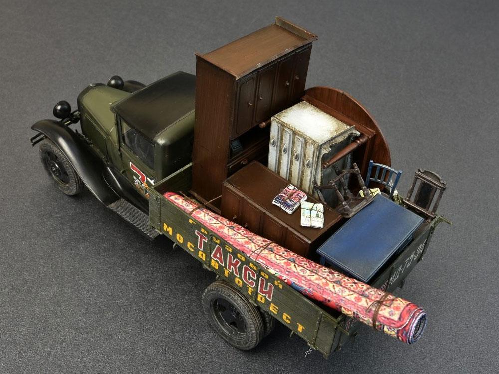 ソビエト 1.5トン カーゴトラック (家具パーツ付)プラモデル(ミニアート1/35 ミニチュアシリーズNo.38013)商品画像_2