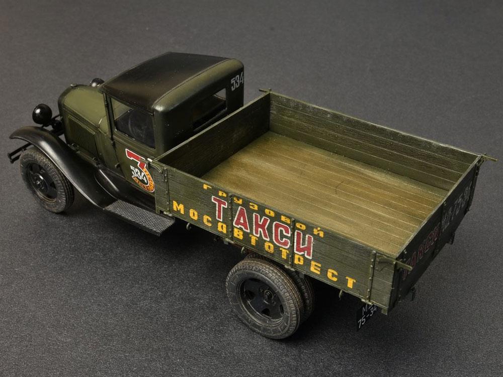 ソビエト 1.5トン カーゴトラック (家具パーツ付)プラモデル(ミニアート1/35 ミニチュアシリーズNo.38013)商品画像_4