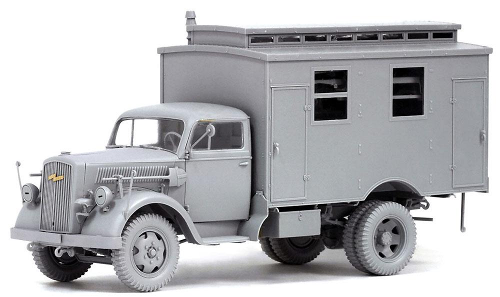 ドイツ 3トン 4×2 トラック 野戦救急車プラモデル(ドラゴン1/35 '39-'45 SeriesNo.6790)商品画像_3