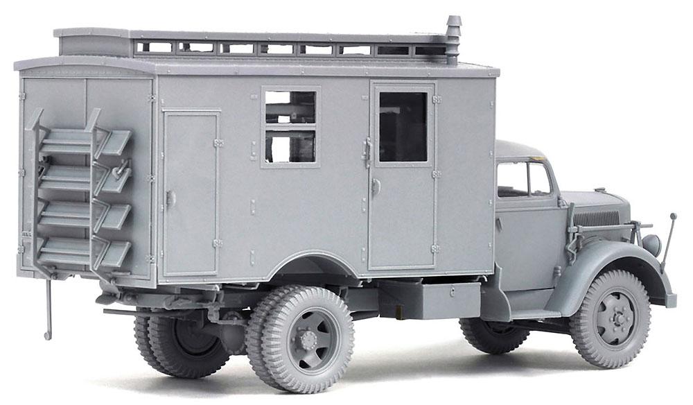 ドイツ 3トン 4×2 トラック 野戦救急車プラモデル(ドラゴン1/35 '39-'45 SeriesNo.6790)商品画像_4