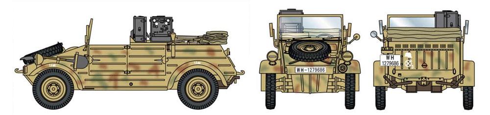 ドイツ キューベルワーゲン 無線車プラモデル(ドラゴン1/35 '39-'45 SeriesNo.6886)商品画像_3