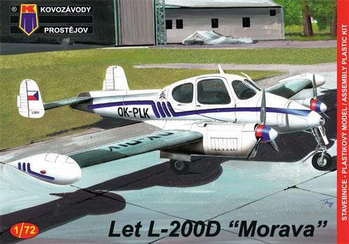Let L-200D モラヴァプラモデル(KPモデル1/72 エアクラフト プラモデルNo.KPM0090)商品画像
