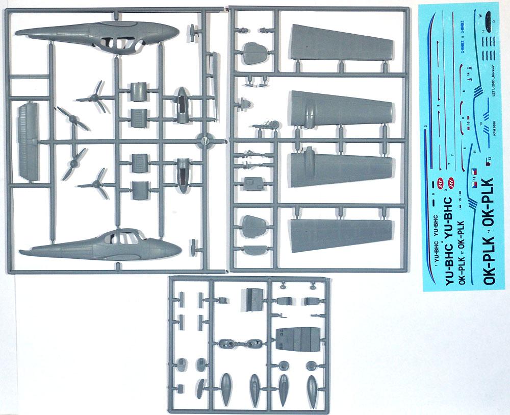 Let L-200D モラヴァプラモデル(KPモデル1/72 エアクラフト プラモデルNo.KPM0090)商品画像_1