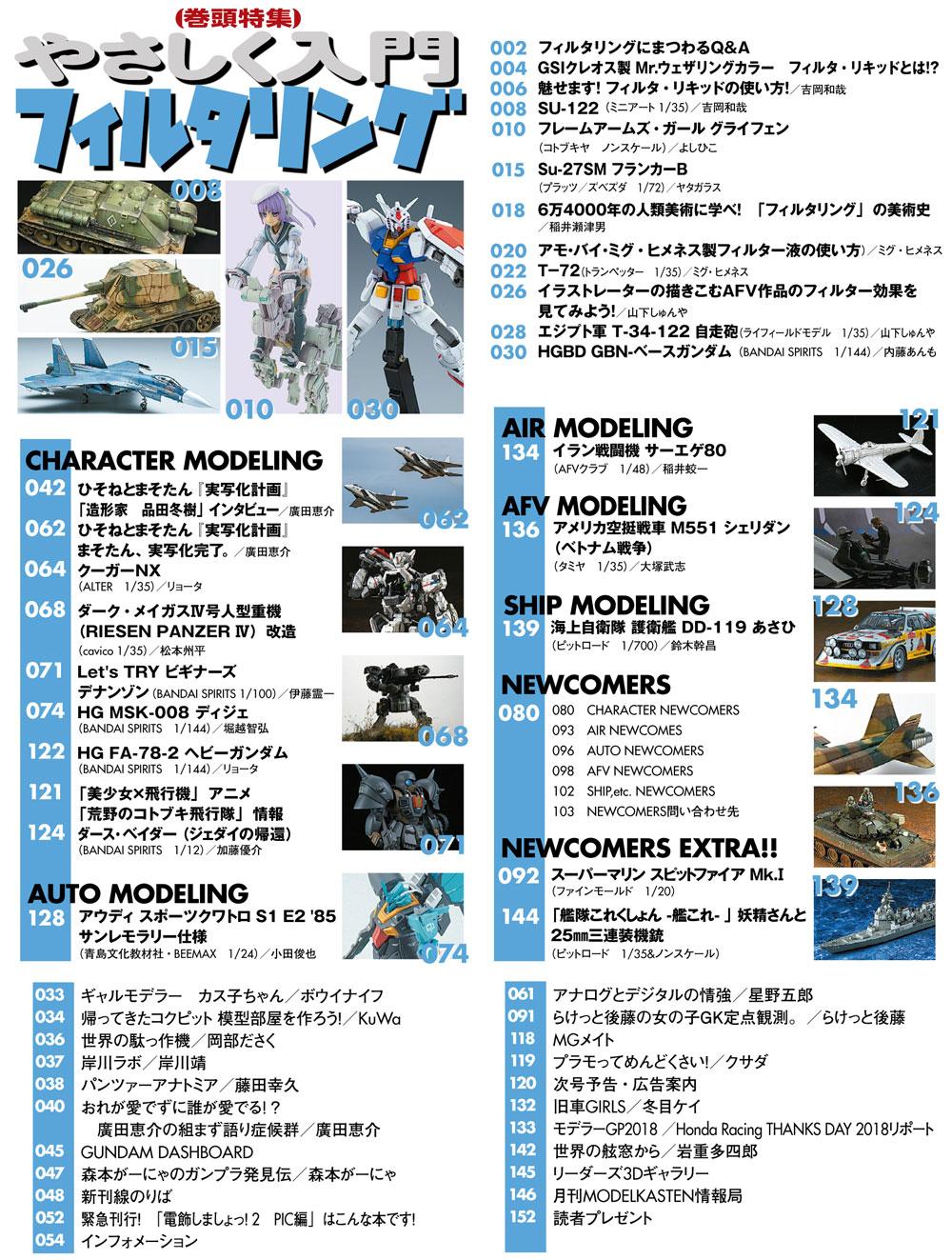 モデルグラフィックス 2019年2月号雑誌(大日本絵画月刊 モデルグラフィックスNo.411)商品画像_2