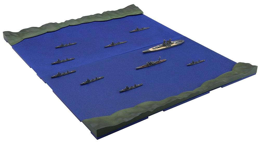 天一号作戦 第一遊撃部隊セット (大和/矢矧/駆逐艦8隻)プラモデル(フジミ集める軍艦シリーズNo.008)商品画像_4