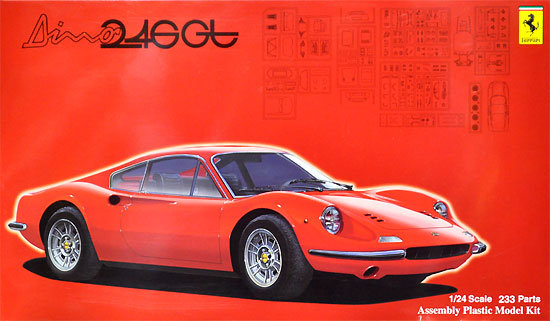 フェラーリ ディノ 246GT 前期型/後期型プラモデル(フジミ1/24 リアルスポーツカー シリーズNo.116)商品画像