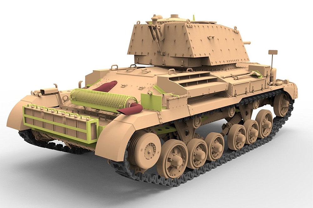 イギリス Mk.2A/2A CS 巡航戦車 (A10 Mk.1A/1A CS) バルカン戦線プラモデル(ブロンコモデル1/35 AFVモデルNo.CB35151)商品画像_3