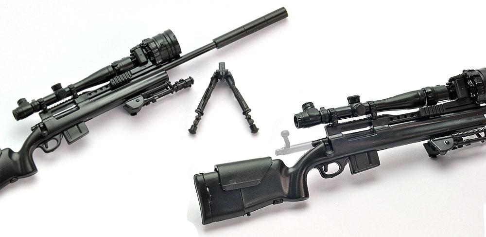 M24A2 タイププラモデル(トミーテックリトルアーモリー (little armory)No.LA036)商品画像_2
