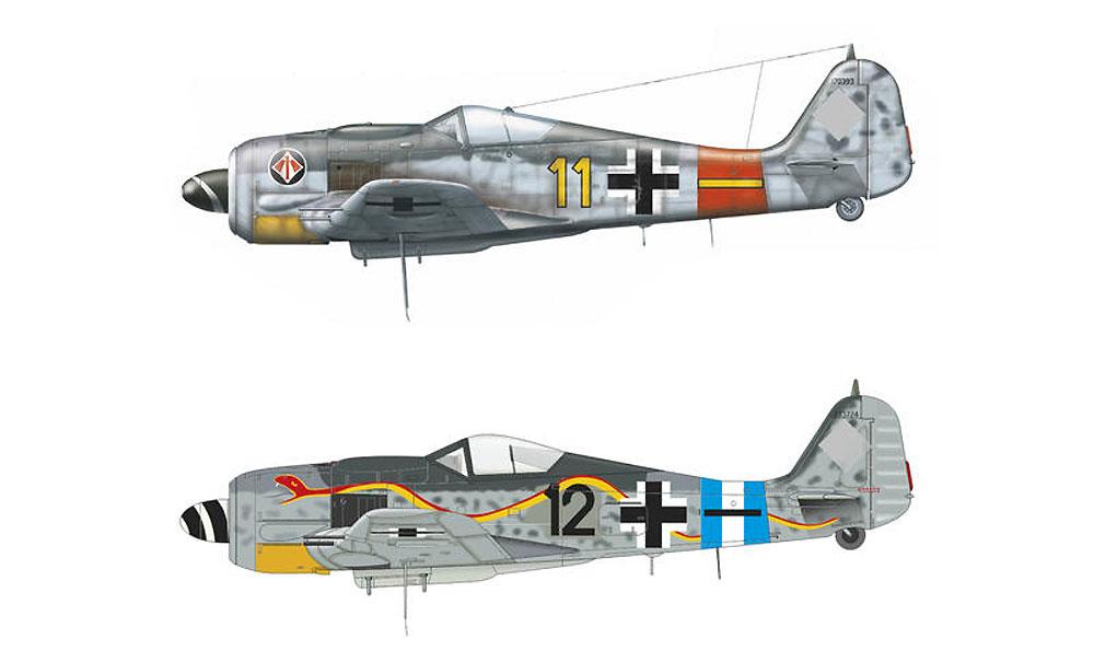 フォッケウルフ Fw190A-8 ユニバーサルウイングプラモデル(エデュアルド1/72 ウィークエンド エディションNo.7443)商品画像_2