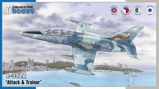 エアロ L-39ZA アルバトロス ジェット練習機プラモデル(スペシャルホビー1/48 エアクラフト プラモデルNo.SH48167)商品画像