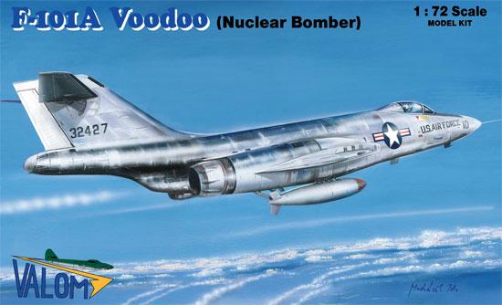 F-101A ヴードゥー 戦闘爆撃機プラモデル(バロムモデル1/72 エアクラフト プラモデルNo.72124)商品画像