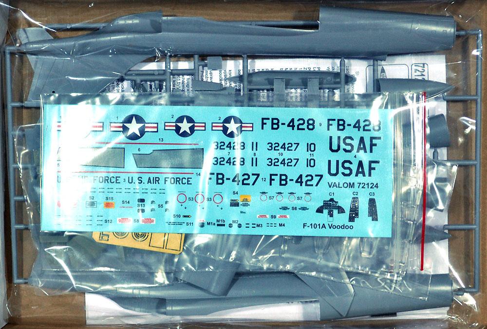 F-101A ヴードゥー 戦闘爆撃機プラモデル(バロムモデル1/72 エアクラフト プラモデルNo.72124)商品画像_1