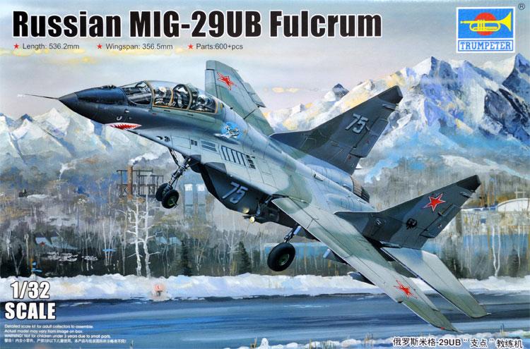 ロシア MiG-29UB ファルクラムプラモデル(トランペッター1/32 エアクラフトシリーズNo.03226)商品画像