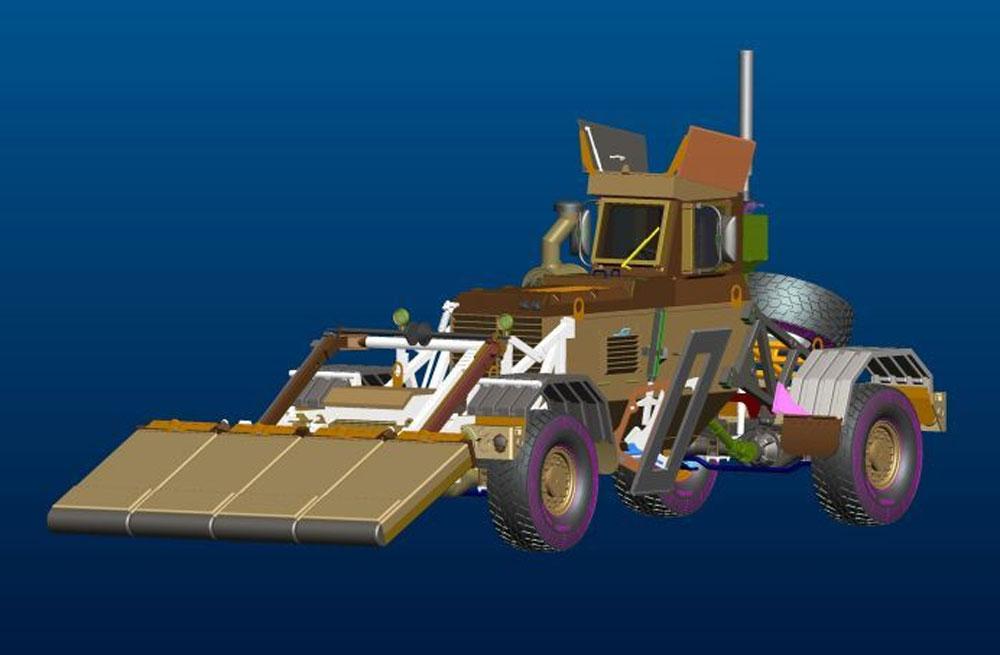 ハスキー Mk.3 VMMD w/GPRSプラモデル(パンダホビー1/35 CLASSICAL SCALE SERIESNo.PH35015)商品画像_2