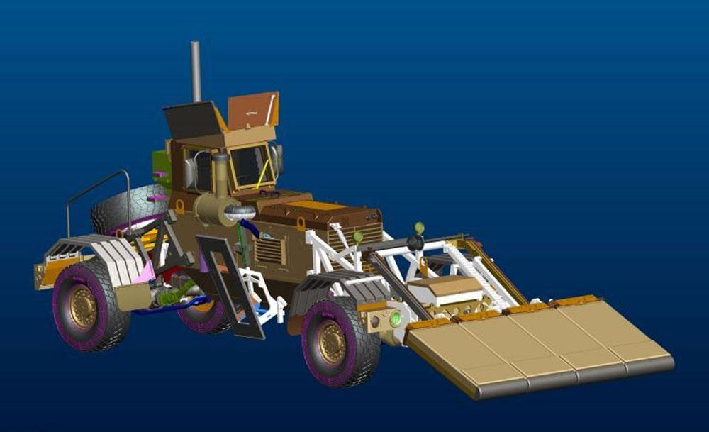 ハスキー Mk.3 VMMD w/GPRSプラモデル(パンダホビー1/35 CLASSICAL SCALE SERIESNo.PH35015)商品画像_3