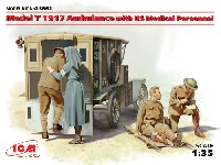 T型フォード 1917 救急車 w/アメリカ衛生兵