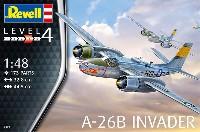 レベル1/48 飛行機モデルA-26B インベーダー