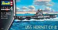 レベル1/1200 艦船キットUSS ホーネット CV-8