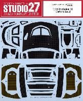 スタジオ27ラリーカー カーボンデカール三菱 ランサー エボリューション 6 カーボンデカール