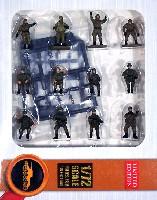 ロシア軍 現用AFVクルー & 歩兵セット16体 (軍服:カーキ) w/武器