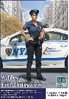 マスターボックスピンナップ (Pin-up)アシュレイ - フィールド インタビュー (NY市警 制服)  (デンジャラスカーブス シリーズ)